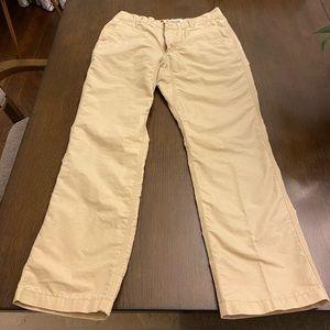Mountain Khaki poplin pants slim fit 32x30